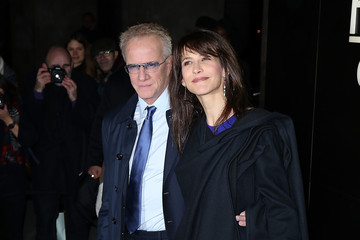 Christophe Lambert Arrivals at the Giorgio Armani Prive Show