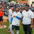 Christopher Backus Celebrities Attend Charity Softball Game To Benefit California Strong