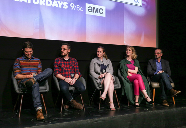'Halt and Catch Fire' Screening [halt and catch fire,event,youth,fashion,performance,design,talent show,team,competition,performing arts,heater,christopher rogers,mackenzie davis,toby huss,christopher cantwell,melissa bernstein,screening,l-r,ifc center,new york city]