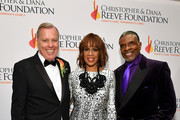 """(L-R) President of the Christopher Reeve & Dana Reeve Foundation Peter Wilderotter, Gayle King, and Keith David arrive at The Christopher & Dana Reeve Foundation """"Magical Evening"""" Gala on November 15, 2018 in New York City."""