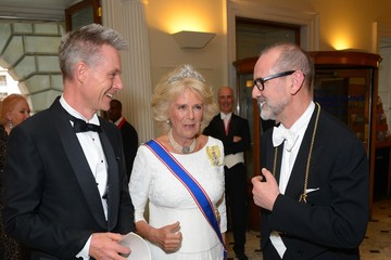 Christopher Lebrun The Duchess of Cornwall Attends the Royal Academy of Arts Annual Dinner