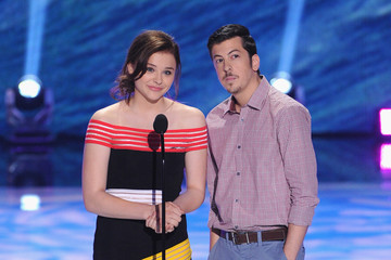 Christopher Mintz-Plasse Chloe Grace Moretz Inside the 2013 Teen Choice Awards
