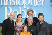 Marc Forster, Hayley Atwell, Bronte Carmichael, Jim Cummings, Simon Faranby and Ewan McGregor attend the European Premiere of 'Christopher Robin' at BFI Southbank on August 5, 2018 in London, England.