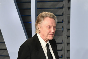 Christopher Walken 2018 Vanity Fair Oscar Party Hosted By Radhika Jones - Arrivals