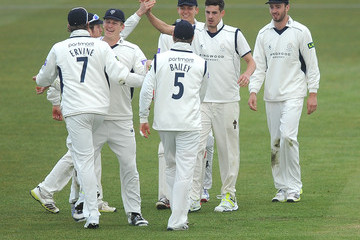 Christopher Wood Hampshire v Leicestershire