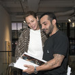 Christy Turlington Burns Michael Angel's 'Maps And Stacks' Presented By Gobbi Fine Art, New York City