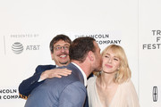 """Philippe Falardeau, Liev Schreiber and Naomi Watts attend the """"Chuck"""" Premiere - 2017 Tribeca Film Festival on April 28, 2017 in New York City."""