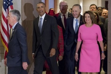 Chuck Schumer Democratic Leaders Discuss The Affordable Care Act Following Meeting With President Obama