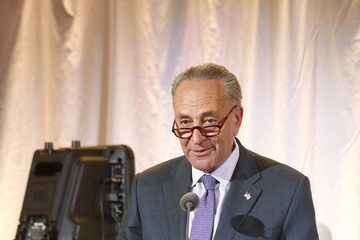 Chuck Schumer Mount Sinai Health System 2017 Crystal Party