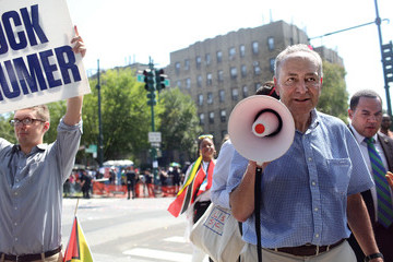 Chuck Schumer Annual West Indian Day Held In Brooklyn