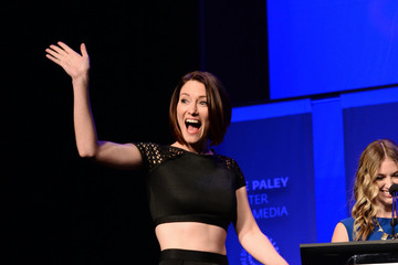 Chyler Leigh The Paley Center For Media's 33rd Annual PaleyFest Los Angeles - 'Supergirl' - Inside