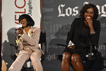 Cicely Tyson Viola Davis LA Times' Envelope Screening of 'How To Get Away With Murder'