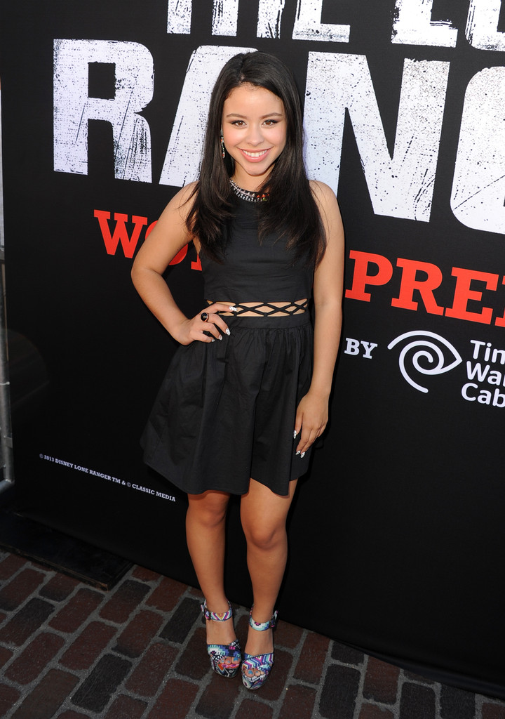 "Cierra Ramirez - Premiere Of Walt Disney Pictures' ""The Lone Ranger"" - Red Carpet"