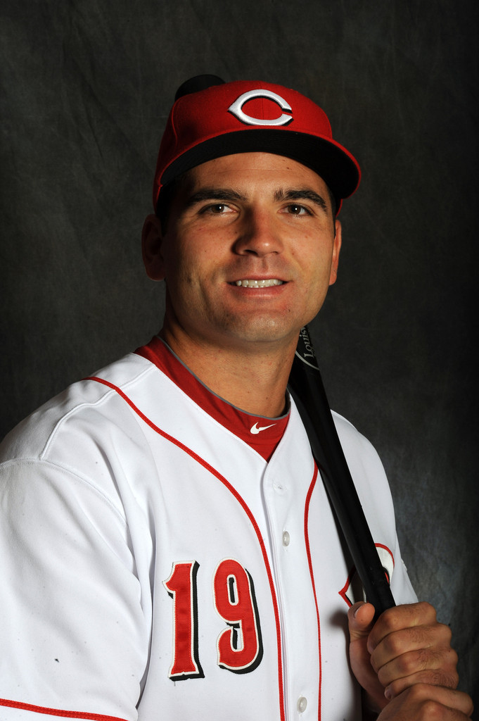 Joey Votto in Cincinnati Reds Photo Day 1 of 3 - Zimbio