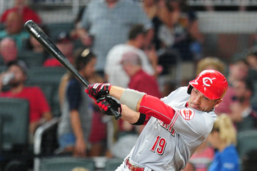 Joey Votto Cincinnati Reds v Atlanta Braves