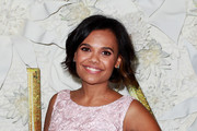 Miranda Tapsell arrives at the Australian premiere of Disney's Cinderella at the State Theatre on March 15, 2015 in Sydney, Australia.