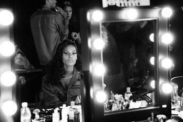 Cindy Bruna Philipp Plein - Backstage - Milan Men's Fashion Week Spring/Summer 2018