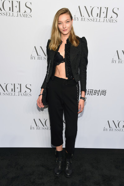 Cindy Crawford And Candice Swanepoel Host 'ANGELS' By Russell James Book Launch And Exhibit - Arrivals - 1 of 3