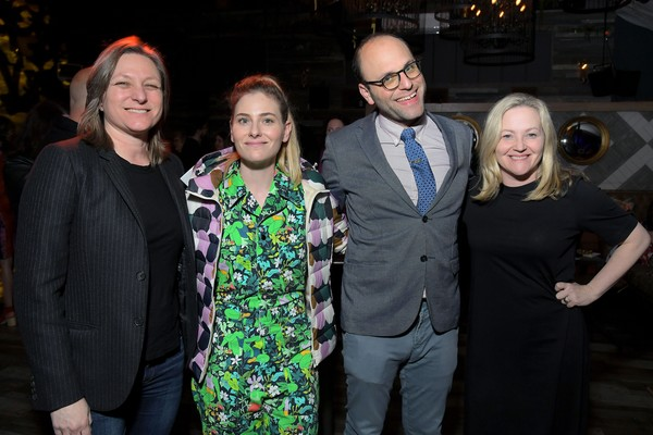 "Netflix Presents ""The BoJack Horseman"" Finale Event [people,event,fashion,fun,night,performance,style,fashion design,cindy holland,jane wiseman,raphael bob-waksberg,lisa hanawalt,netflix presents,l-r,the egyptian theatre,california,the bojack horseman,the bojack horseman finale event,raphael bob-waksberg,bojack horseman,will arnett,getty images,stock photography,photograph,photography,image,livingly media]"
