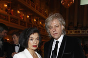 Bianca Jagger and Bob Geldof attend the Cinema for Peace Gala ceremony at the Konzerthaus Am Gendarmenmarkt during day five of the 62nd Berlin International Film Festival  on February 13, 2012 in Berlin, Germany.