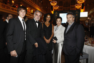 Michelle Yeoh Luc Besson Cinema For Peace Gala 2012 - Inside Ceremony