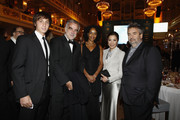 Michelle Yeoh and Luc Besson Photos Photo