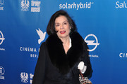 Bianca Jagger attends the Cinema for Peace Gala at the Konzerthaus Am Gendarmenmarkt during day five of the 62nd Berlin International Film Festival  on February 13, 2012 in Berlin, Germany.