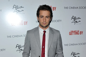 """Michael Angarano The Cinema Society With Alice+Olivia Host A Screening Of """"The Art Of Getting By"""" - Arrivals"""