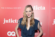 """Actress Louisa Krause attends a screening of Sony Pictures Classics' """"Julieta"""" hosted by The Cinema Society, Avion and GQ at Landmark Sunshine Cinema on November 30, 2016 in New York City."""