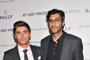 "Actor Zac Efron and director Ramin Bahrani attend the Cinema Society & Bally screening of Sony Pictures Classics' ""At Any Price"" at Landmark Sunshine Cinema on April 18, 2013 in New York City."