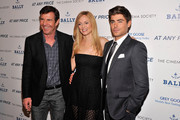 "Actors Dennis Quaid, Heather Graham and Zac Efron attend the Cinema Society & Bally screening of Sony Pictures Classics' ""At Any Price"" at Landmark Sunshine Cinema on April 18, 2013 in New York City."