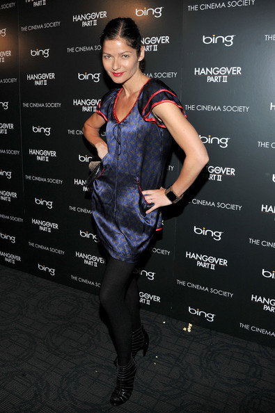 "Actress Jill Hennessy attends the Cinema Society & Bing screening of ""The Hangover Part II"" at Landmark Sunshine Cinema on May 23, 2011 in New York City."