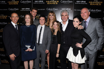 """Gary Ross Liam Hemsworth The Cinema Society & Calvin Klein Collection Host A Screening Of """"The Hunger Games"""" - Inside Arrivals"""