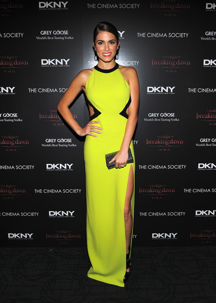 Nikki+Reed in The Cinema Society & DKNY Host A Screening Of