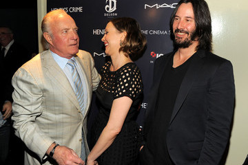 """Keanu Reeves The Cinema Society With DeLeon Tequila And Moving Pictures Film & Television Host A Screening Of """"Henry's Crime"""" - Arrivals"""