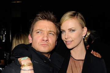 Photo of Jeremy Renner & his friend  Charlize Theron