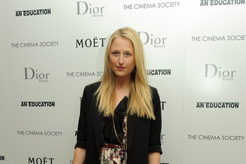 "Mamie Gummer The Cinema Society and Dior Beauty Host a Screening of ""An Education"""