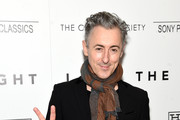 """Alan Cumming attends The Cinema Society With Hestia & St-Germain Host a Screening of Sony Pictures Classics' """"I Saw the Light"""" at Metrograph on March 24, 2016 in New York City."""
