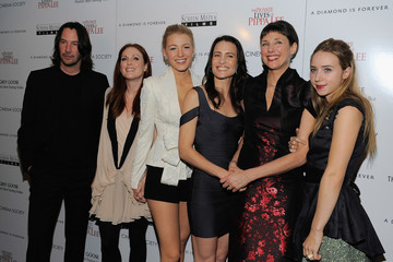 """Rebecca Miller Robin Wright The Cinema Society Hosts The Screening Of """"The Private Lives Of Pippa Lee"""""""