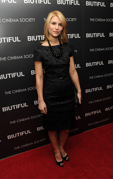 "Actress Claire Danes attends a screening of ""Biutiful"" hosted by the Cinema Society with Miuccia Prada, Sandra Brant & Ingrid Sischy at the Lighthouse Theater on December 1, 2010 in New York City."