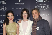 Anne Hathaway and Jonathan Demme Photos Photo