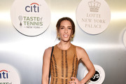 Tennis player Andrea Petkovic attends the Citi Taste Of Tennis gala on August 23, 2018 in New York City.
