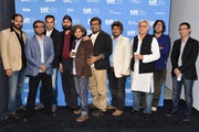 "(L-R) Directors Mohit Takalkar, Dibakar Banerjee, actor Abhay Deol, directors Manjeet Singh, Anand Gandhi, Anurag Kashyap, Vasan Bala, Hansal Mehta, Ashim Ahluwalia and Habib Faisal attend the ""City To City"" Photo Call during the 2012 Toronto International Film Festival at TIFF Bell Lightbox on September 11, 2012 in Toronto, Canada."