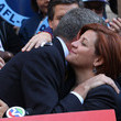 Christine Quinn and Bill de Blasio Photos