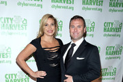 Restaurateur Donatella Arpaia (L) and Allan Stewart attend City Harvest's 22nd Annual an Evening of Practical Magic on April 12, 2016 in New York City.