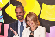 John Molner (L) and Katie Couric attend City Harvest's 35th Anniversary Gala at Cipriani 42nd Street on April 24, 2018 in New York City.
