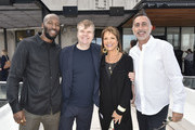 Ezekiel Lewis, Rob Stringer, Sylvia Rhone and Rick Sackheim attend the City Of Hope - Sylvia Rhone Spirit Of Life Kickoff Breakfast In New York on June 14, 2019 in New York City.