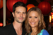 Actors Jason Behr (L) and KaDee Strickland attend City Year Los Angeles' spring break: destination education at Sony Pictures Studios on April 20, 2013 in Culver City, California.