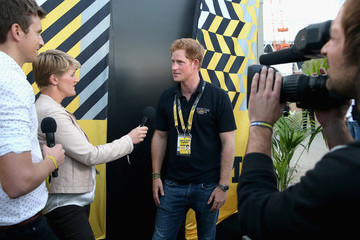 Claire Balding Behind The Scenes At The Invictus Games