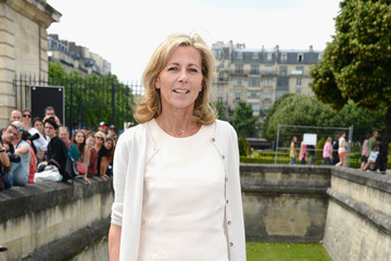 Claire Chazal PFW: Front Row at Christian Dior